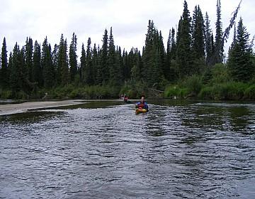 Beginning of Nisutlin River
