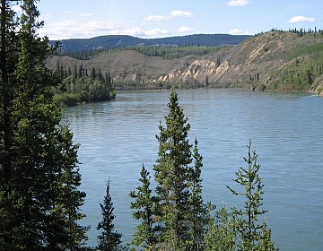 Yukon river scenery