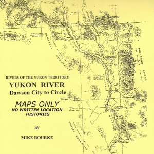 Yukon River, Dawson to Circle, Alaska - Map Book - e-book