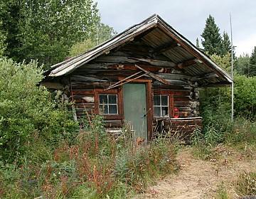 Cabin on Nisutlin River