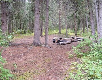 Camp at Selwyn