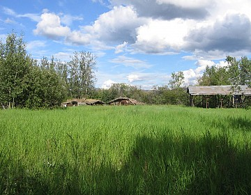 Hay shed at Maisy May