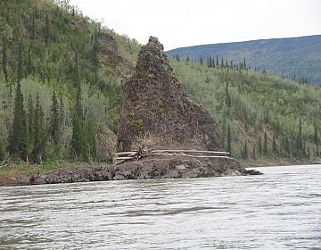 Needlerock on Pelly River