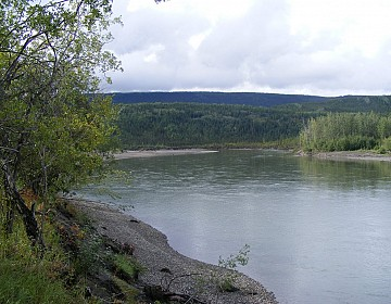 Pelly River scenery